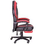 Кресло VR Racer Edge Iron черный/красный, Бесплатная доставка, фото 3