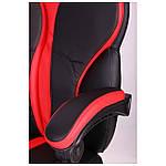 Кресло VR Racer Edge Iron черный/красный, Бесплатная доставка, фото 6