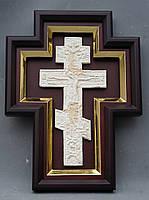 Киот для креста или распятия с золоченной рамой., фото 3