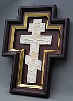 Киот для креста или распятия с золоченной рамой., фото 7