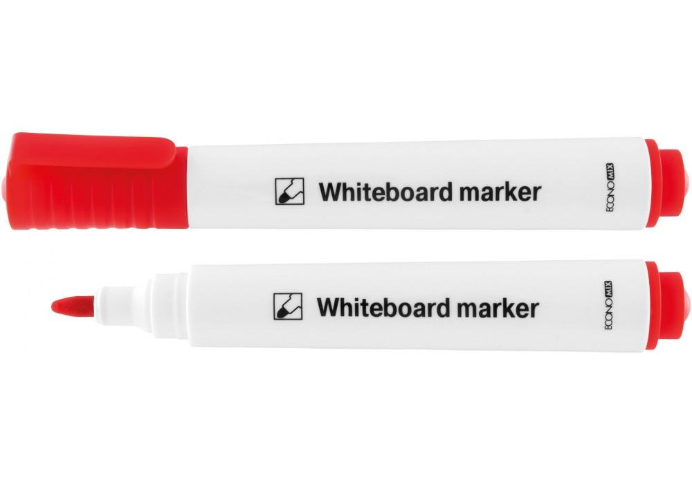 Маркер для белых досок ECONOMIX, красный