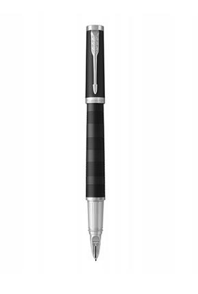 Ручка перьевая Parker Ingenuity Premium Black Rubber CT Large, фото 2