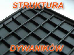 Резиновые коврики AUDI A4 S4 2000- серые с лого, фото 2
