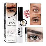 Сыворотка для бровей FEG Eyebrow Enhancer, 3 мл, фото 6