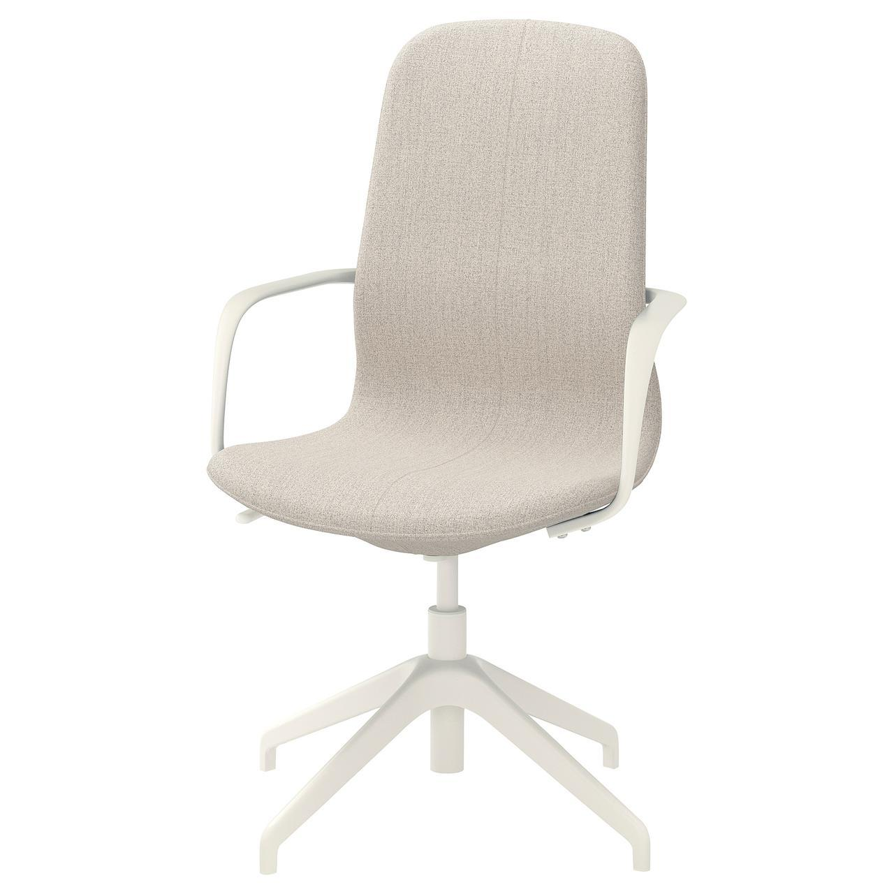 IKEA LANGFJALL (592.525.95) Компьютерное кресло, Гуннаред темно-серый