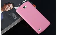 Пластиковый чехол для Lenovo S920 розовый