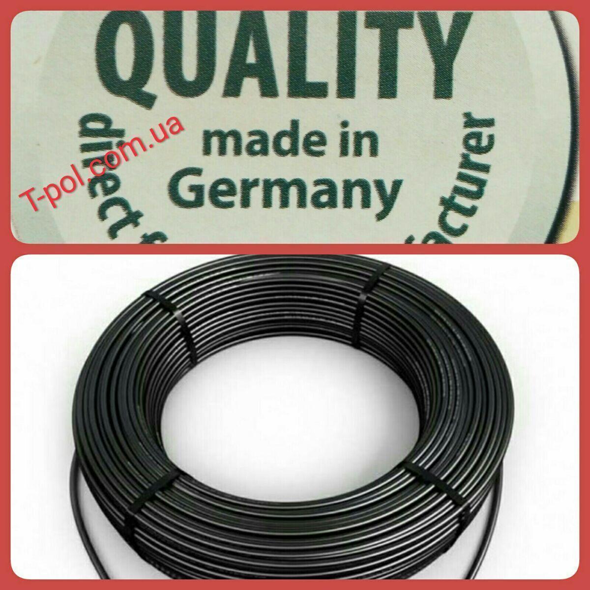 Нагревательный тонкий кабель dr hemstedt 1200вт 95,5м теплый пол на 8 м2