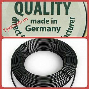 Нагревательный тонкий кабель dr hemstedt 1500вт 119,4м теплый пол на 10 м2, фото 2