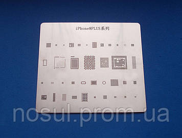 IPhone 8PLUS BGA шаблоны трафареты, пластина для реболлинга