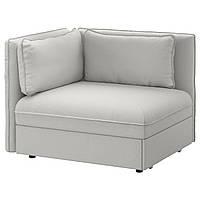 IKEA VALLENTUNA (691.496.64) Кресло с кроватью и спинкой