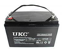 Гелевый аккумулятор UKC 12V 100A