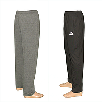Спортивные трикотажные брюки (БОЛЬШИЕ РАЗМЕРЫ) K100b. Оптовая продажа на 7км.