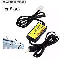 USB AUX MP3 адаптер для магнитолы Mazda эмулятор СД чейнджера Мазда, фото 1