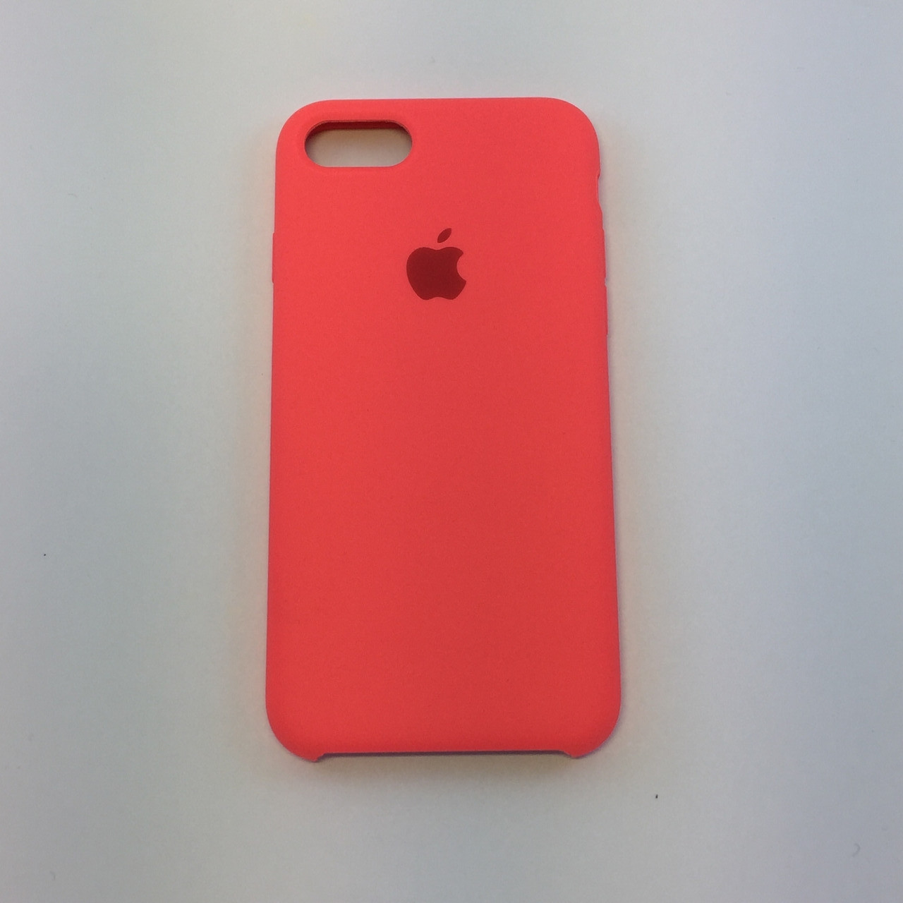 Силиконовый чехол для iPhone 7, - «кораловый» - copy original