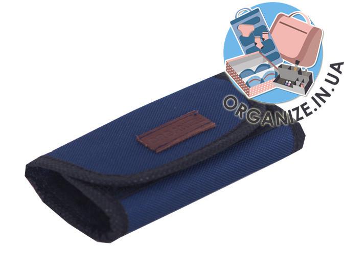 Складная полировочная варежка для обуви ORGANIZE (cиний)