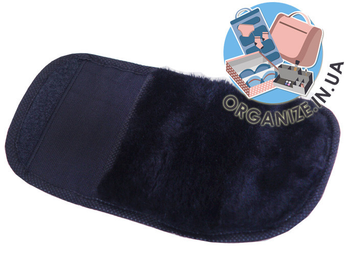 Складная варежка для полировки обуви ORGANIZE (черный)
