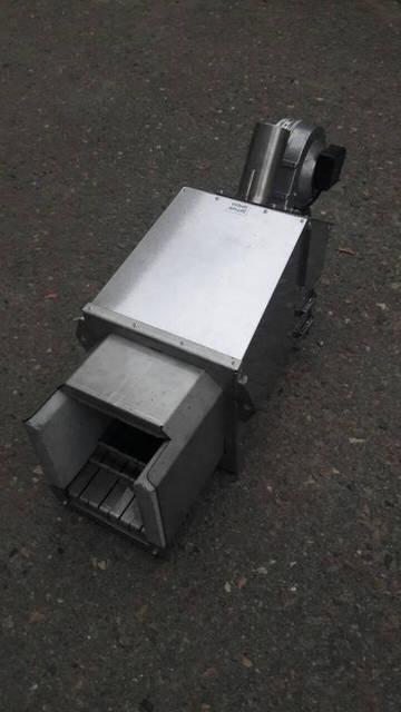 Объект СТО. Перевод ТТ котла 100 кВт на пеллету. Была установлена горелка серии Air Pellet Ceramic 100 кВт. в Жаротрубный котёл. 2
