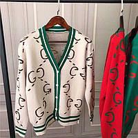 Кофты Gucci на пуговицах в 3 расцветках. КОД 009ВИ