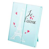 Зеркало косметическое на подставке Je  t'aime (314JH)