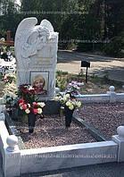 Памятник из мрамора с Ангелом № 89