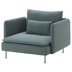 IKEA SODERHAMN (591.356.48) Кресло, Самста темно-серый