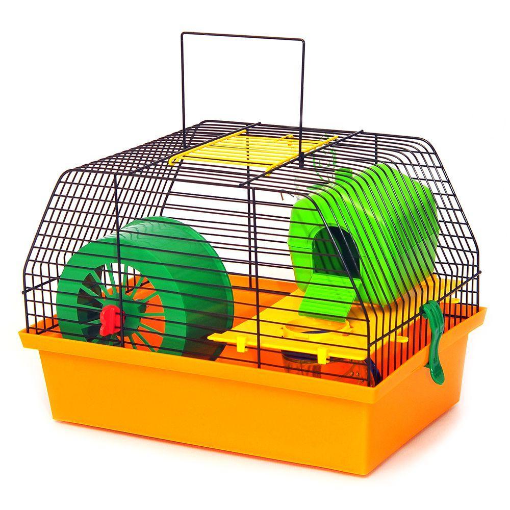 Клетка для грызунов с тоннелем Вилла Люкс 1 краска