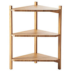 IKEA RAGRUND (402.530.76) Угловой стеллаж, бамбук
