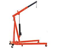 Кран-стрела ручной гидравлический SDJ2, грузоподъемность 2000-500 кг, габариты 1700*1010 мм