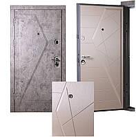 """Вхідні двері StellArt ВІП """"Айсберг"""" Квартира 950*2030, праві"""