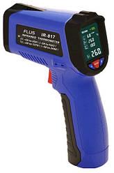 Пирометр Flus IR-817 (-50℃ до +550℃) с термопарой К-типа измерением влажности и температуры воздуха DEW  (mdr_5008)