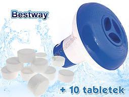 Диспенсер поплавок + 10 таблеток, фото 3