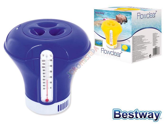 Диспенсер поплавок с термометром
