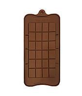 Форма силиконовая для конфет Плитка шоколада