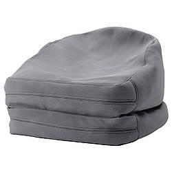 IKEA BUSSAN (503.129.09) Пуф, внутри/снаружи, серый