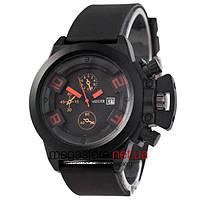 Мужские наручные часы Megir черный (22023) реплика, фото 1