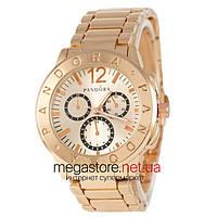 Мужские наручные часы Pandora Сircle с циферблатом цвета розового золота (22384) реплика, фото 1
