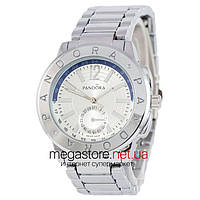 Мужские наручные часы Pandora 6028 серебро (22387) реплика, фото 1
