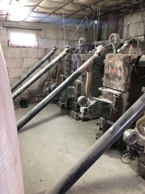 Тепличный комплекс теперь на пеллете. Установлена факельная пелетная Горелка от компании Биором AIR PELLET CERAMIC 100 кВт 4