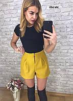 Кашемировые шорты женские 054 МК, фото 1
