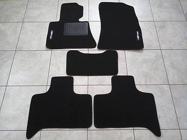 Гумові килимки BMW X5 E53 з логотипом