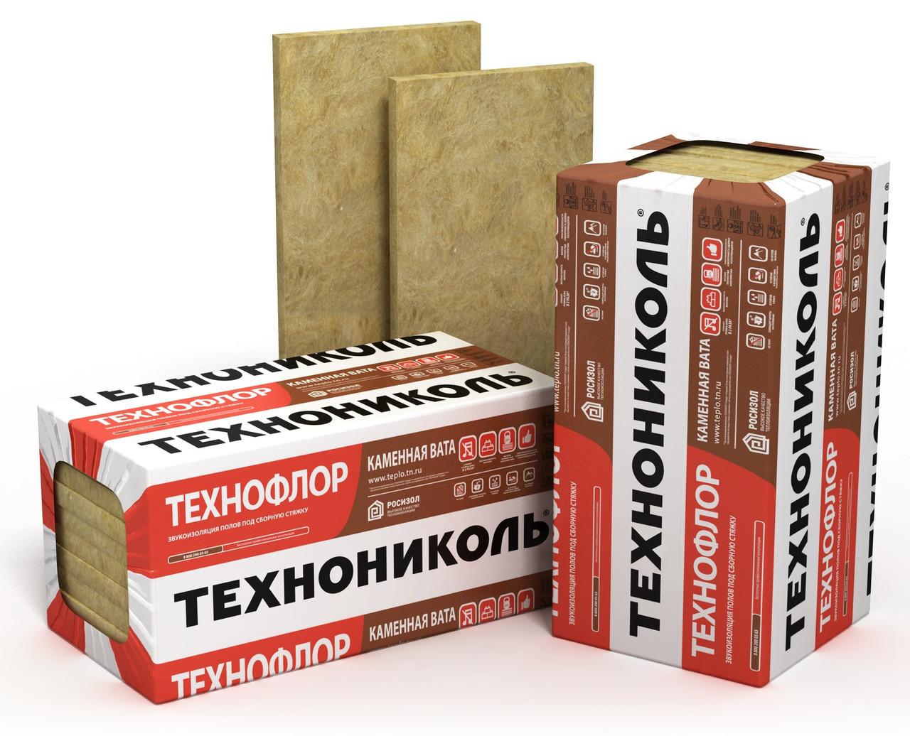 Вата мінеральна Sweetondale Технофлор Стандарт, 110 кг/куб.м 80 мм