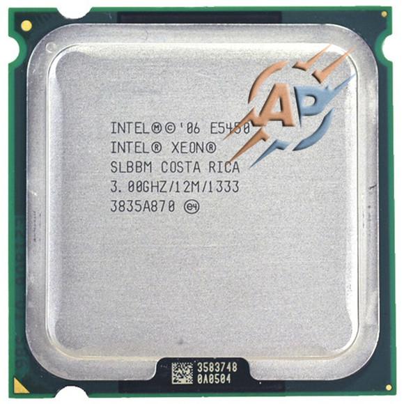 Процессор Intel Xeon E5450 (12M Cache, 3.00 GHz, 1333 MHz FSB) LGA771/LGA775 E0
