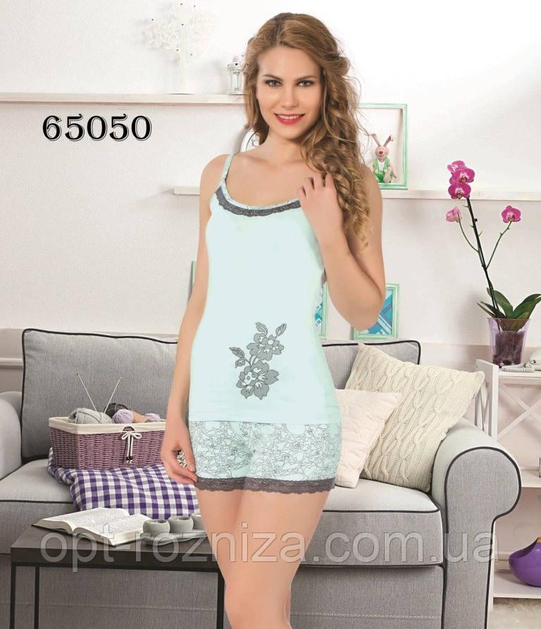 Турецькі піжами майка з шортами для жінок.