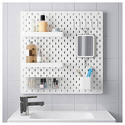 IKEA SKADIS (092.165.95) Перфорированная доска, белый