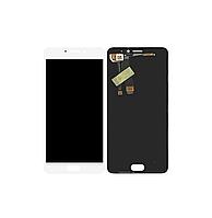 Дисплей Meizu M5 Note с сенсором (тачскрином) White Original