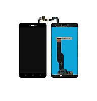 Дисплей Модуль Xiaomi Redmi Note 4x с сенсором (тачскрином) Black