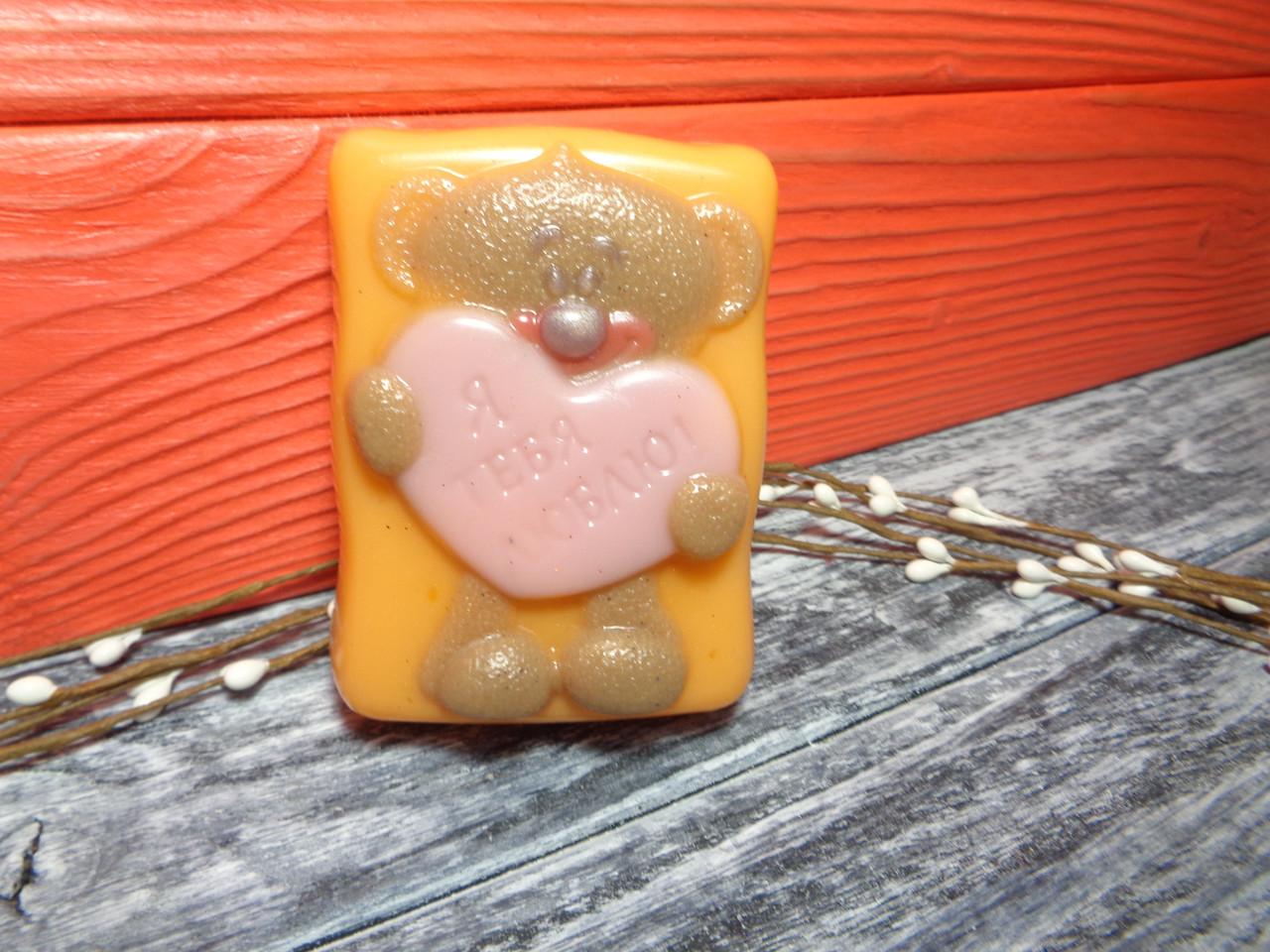 """Мыло """"Влюбленный мишка"""", фото 1"""