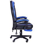 Кресло VR Racer Edge Titan черный/синий, Бесплатная доставка, фото 4