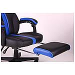 Кресло VR Racer Edge Titan черный/синий, Бесплатная доставка, фото 8