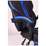Кресло VR Racer Edge Titan черный/синий, Бесплатная доставка, фото 6
